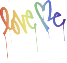 Love Me by Curtis Kulig Wall Decal